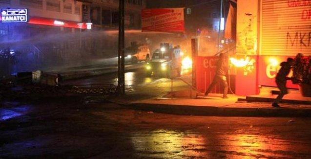 Okmeydanı ve Gazi Mahallesi'ndeki eyleme polis gaz bombasıyla saldırdı
