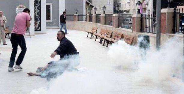Okmeydanı'nda polisin vurduğu gencin durumu ağır