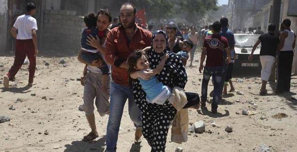 Gazze'de ölü sayısı 60'ı geçti