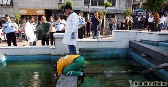 Ölüm süs havuzunda da yakaladı
