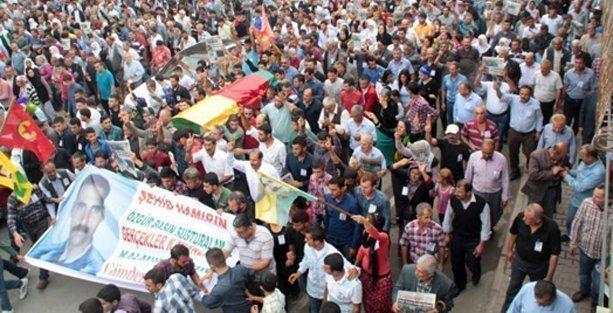 On binler Kadri Bağdu'yu son yolculuğuna uğurladı