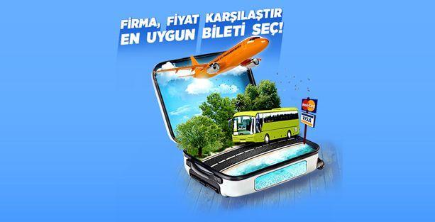Online Otobüs Uçak Bileti Sorgulama ve E Bilet Alma