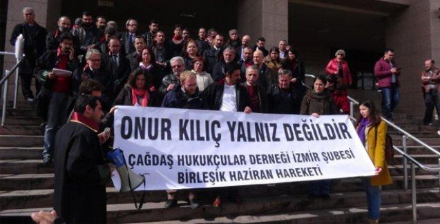 Onur Kılıç'a destek veren 100 avukat için soruşturma