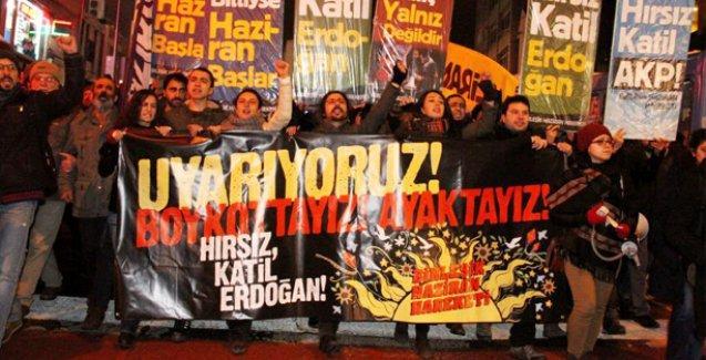 Onur Kılıç'ın tutuklanması Kadıköy'de protesto edildi