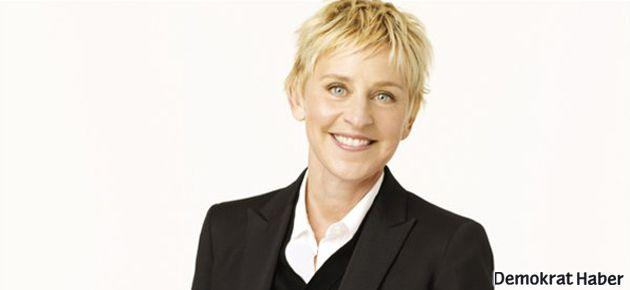 Oscar gecesi Ellen DeGeneres'a emanet