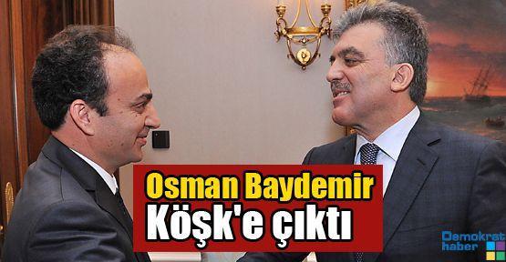 Osman Baydemir Köşk'e çıktı