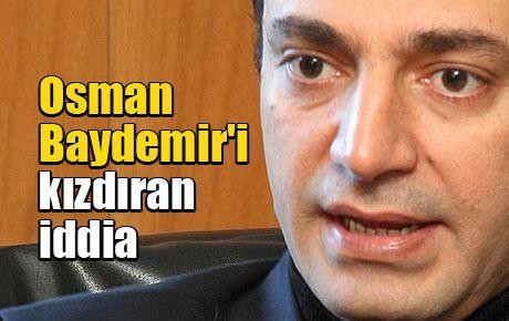 Osman Baydemir'i kızdıran iddia