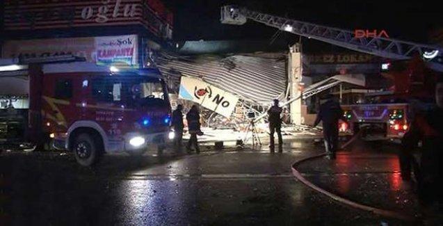 OSTİM'de patlama: 5 işçi yaralı
