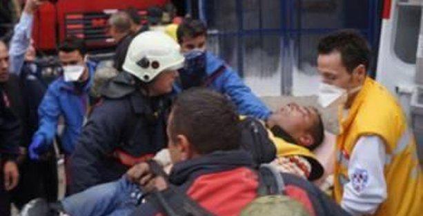 Ostim'de patlama: En az 20 kişi yaralandı