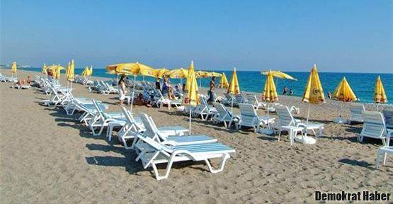 Otel plajları herkese açılıyor