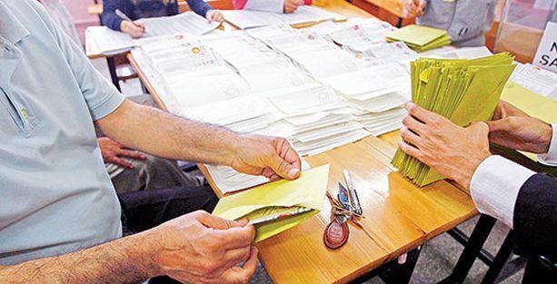 'Oy kullanırken değil, sayımda koordineli hile var'