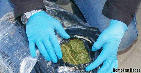 Özel Harekatçı'da 56 kilo uyuşturucu