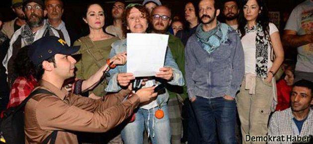 Özel tiyatrolara 'Gezi Parkı' cezası