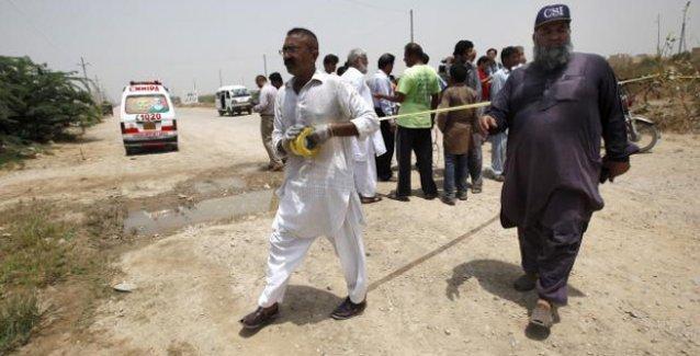 Pakistan'da Şiileri taşıyan otobüse saldırı: 43 ölü!
