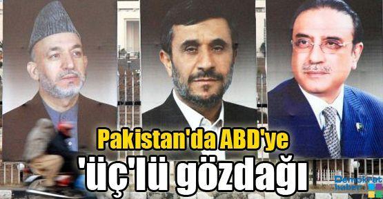 Pakistan'da ABD'ye 'üç'lü gözdağı
