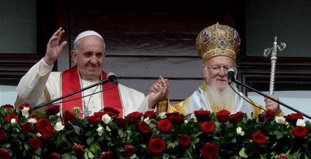 Papa ve Patrik'ten birlik mesajı