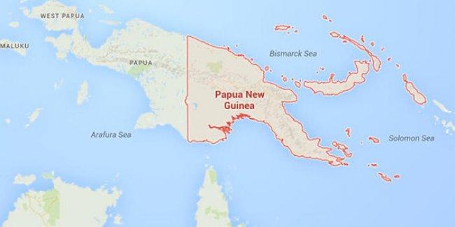 Papua Yeni Gine'de 7,7 büyüklüğünde deprem ve tsunami uyarısı