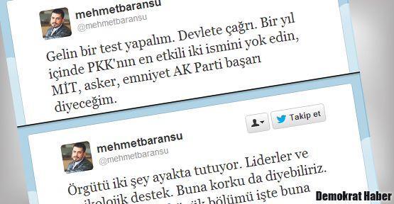 Paris suikastindeki Mehmet Baransu