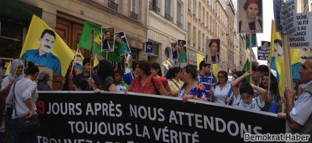 Paris'te adalet eylemi