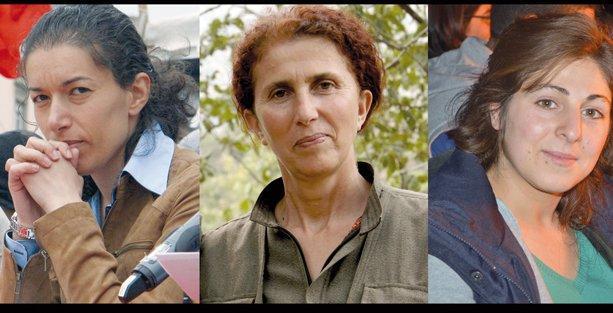Paris'te katledilen 3 PKK'li kadın anılıyor
