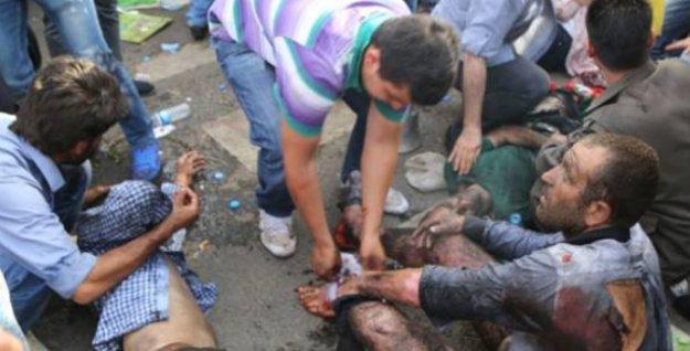 Patlamanın ardından Diyarbakır'da halka 'kan verme' çağrısı