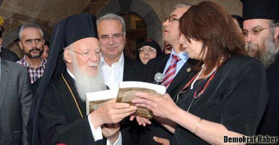 Patrik Barthelemeos, Kapadokya'da kilise açtı, ayin yönetti