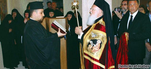 Patrik Bartholomeos'a 'ekümenik' takdim