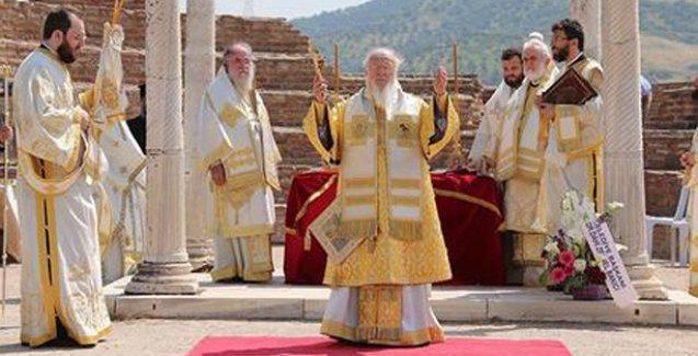 Patrik'ten Çanakkale Savaşı'na katılan Rumlar için ilk dua