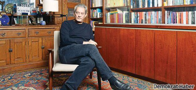 Paul Auster Erdoğan'la polemiğini değerlendirdi