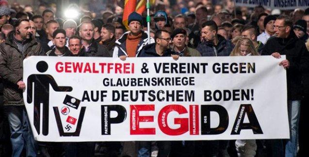 Pegida Avrupa'ya yayılıyor