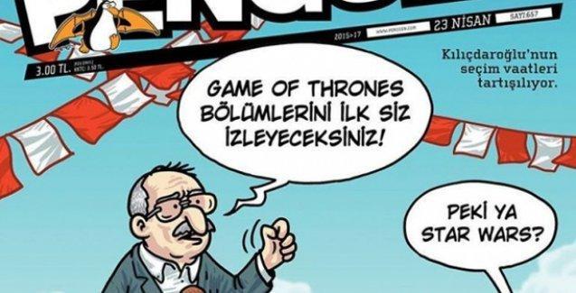 Penguen Kılıçdaroğlu'nu ti'ye aldı: Game Of Thrones bölümlerini ilk siz izleyeceksiniz