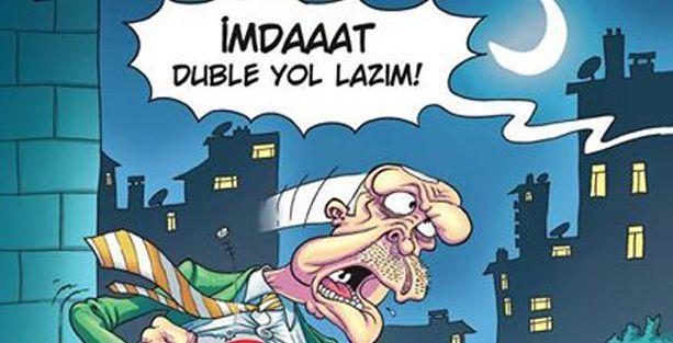 Penguen'de, 'Superman' Erdoğan kapağı