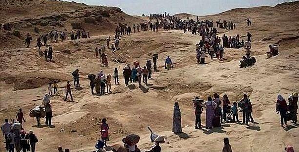 Pentagon dağlarda bulunan Ezidilerin durumunu iyi görmüş!