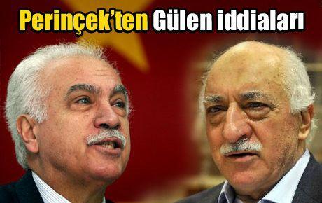 Perinçek'ten Fethullah Gülen iddiaları