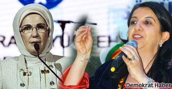 Pervin Buldan ve Emine Erdoğan kadınlardan destek istedi