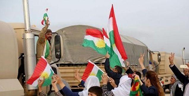 Peşmerge Kobani'den ayrıldı