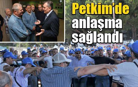 Petkim'de anlaşma sağlandı