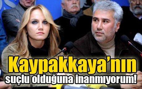 Pınar Sağ dimdik!..