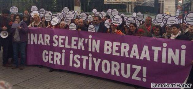 'Pınar Selek'in beraatını geri istiyoruz'