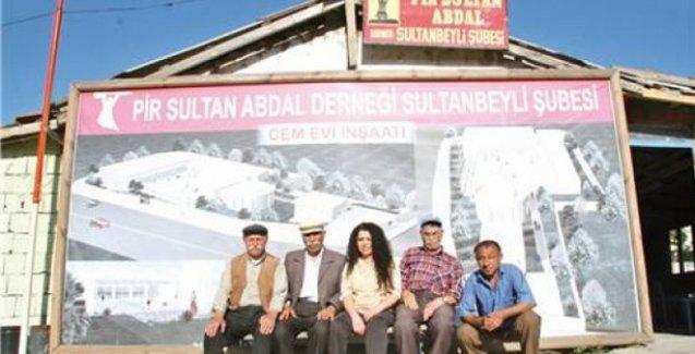 Pir Sultan Abdal Kültür Derneği'ne icra baskını