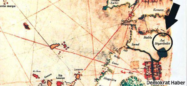 Piri Reis haritasındaki 'Ani Diyarıbekir' araştırılıyor