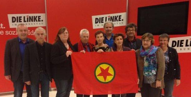 PKK bayrağı açan 10 Alman vekil için soruşturma kararı