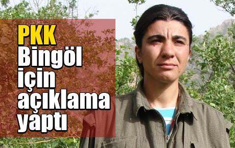 PKK Bingöl için açıklama yaptı