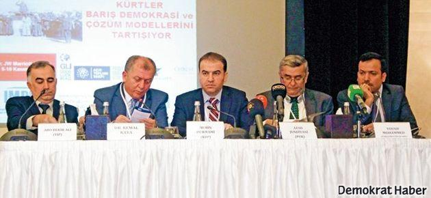 'PKK de konferansta olmalıydı'