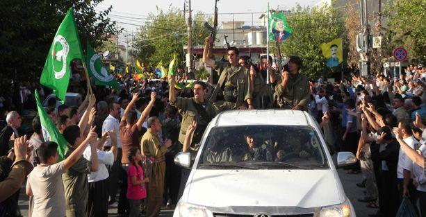 PKK gerillaları bu kez Kerkük'te