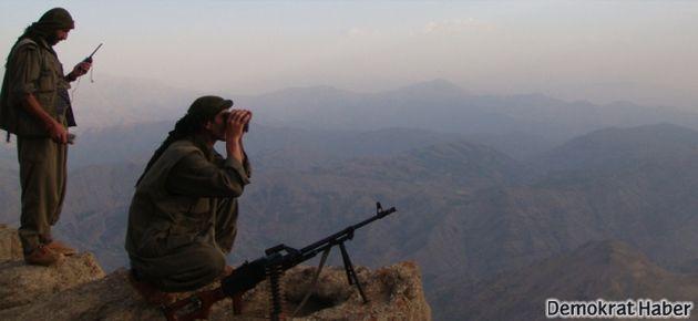PKK Siirt'te karakol inşaatını bastı