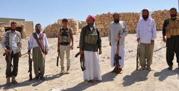 PKK ve YPG'den Ezidiler'e silah eğitimi