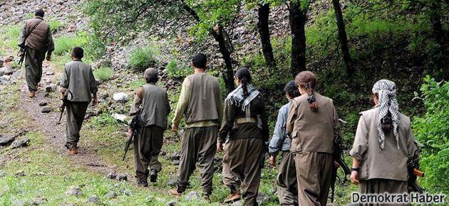 PKK'li bir grup daha geri çekildi