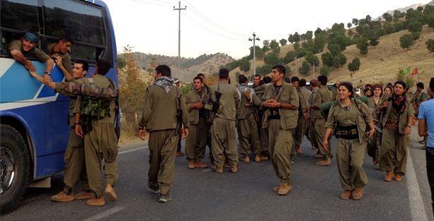 PKK'liler Şengal'de