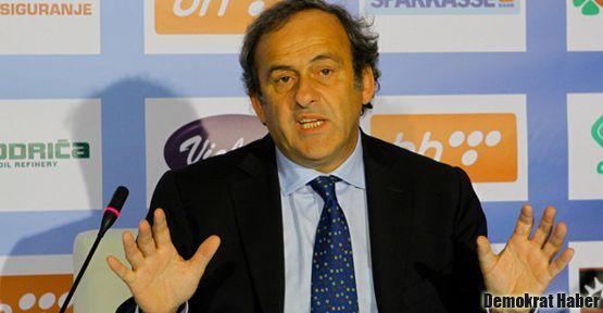 Platini'den EURO 2020'ye 'ev sahipliği' şartı